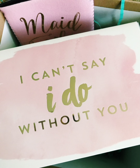 Cute Wedding Party Ideas: A Simple & Cute Way To Ask Your Bridal Party To Stand By